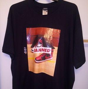 Air Jordan Banned T- Shirt